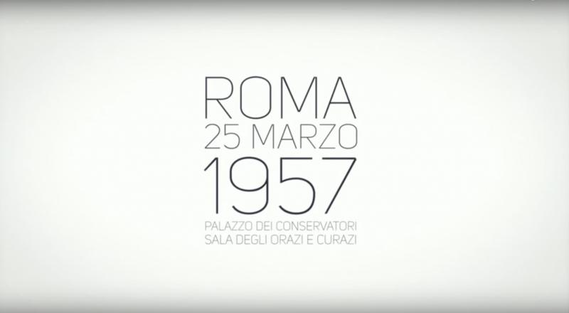60° anniversario dei Trattati di Roma 25 marzo 1957 – 25 marzo 2017