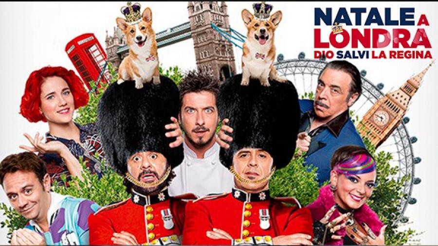 """Natale a Londra Trailer """"Queen speech"""""""